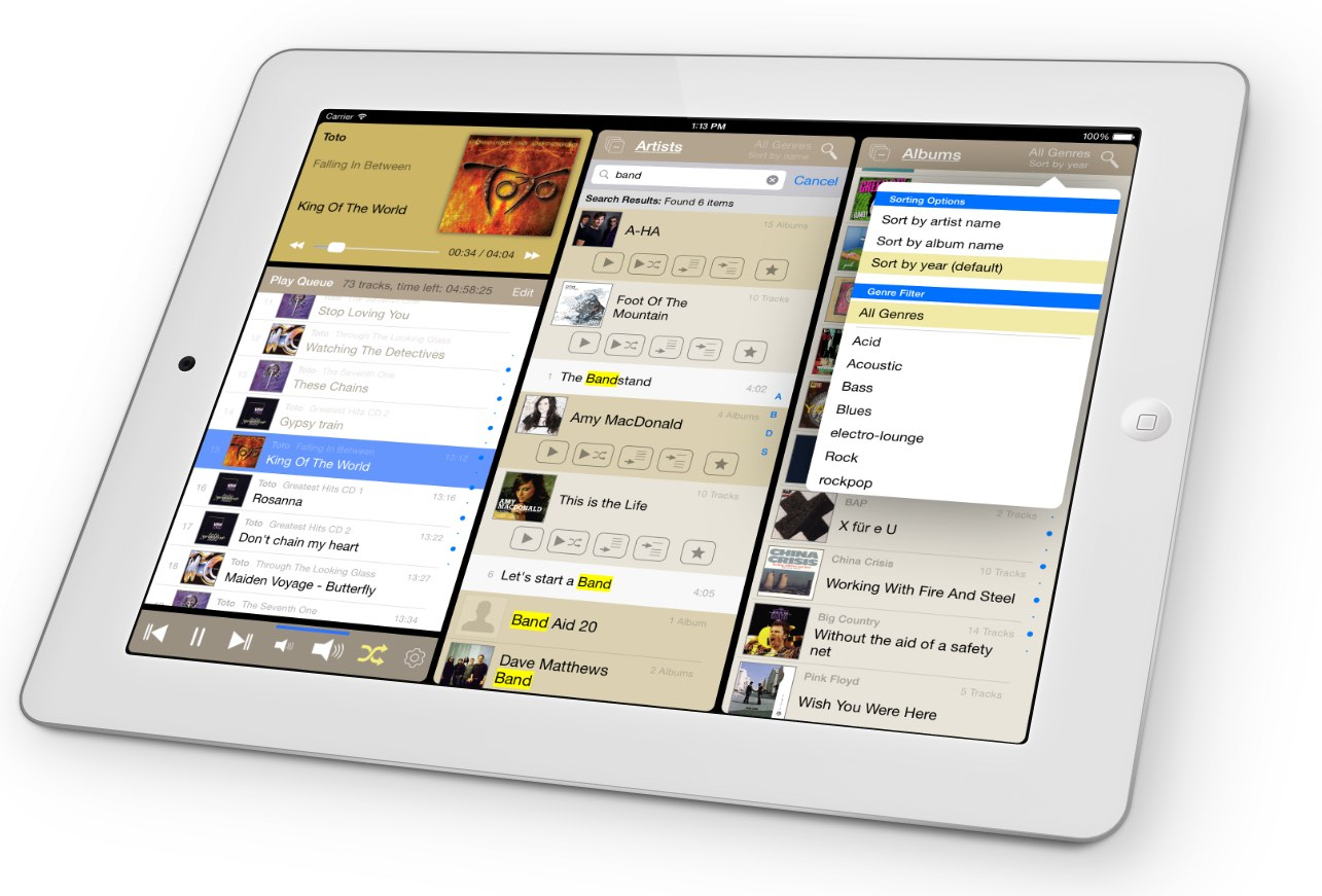 Kodixbmc music remote home mockup ipad sciox Choice Image